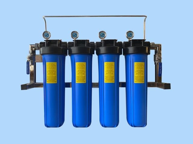 WSM4/20 - 4 Filter High Flow